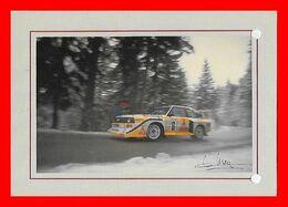 CPSM/gf  Sport Automobile. Hannu MIKKOLA Sur Audi Quattro SI...J524 - Rallyes