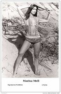 MARISA MELL - Film Star Pin Up PHOTO POSTCARD- Publisher Swiftsure 2000 (179/46) - Cartoline