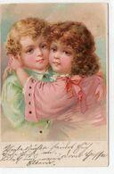 DC3378 - Mädchen Motiv Kinder Motivkarte Hannover 1901 - Gruppi Di Bambini & Famiglie