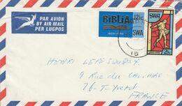 SUD OUEST AFRICAIN AFFRANCHISSEMENT COMPOSE SUR LETTRE POUR LA FRANCE 1970 - Sonstige - Afrika
