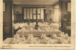 Erquelinnes  Pensionnat  De L'immaculee Conception  Occupation Allemande 1916 Voir Timbres ( Poul - Erquelinnes