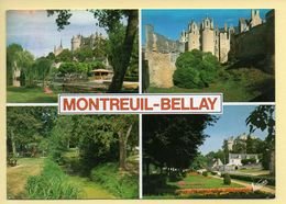 49. MONTREUIL-BELLAY – Multivues (animée) (voir Scan Recto/verso) - Montreuil Bellay