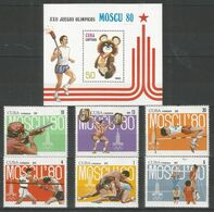 CUBA - MNH - Sport - Olympic Games - 1980 - Other