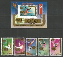 DPR KOREA - MNH - Sport - Olympic Games - 1984 - Other