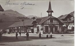 Suisse - Zweisimmen - LA GARE - 1916 - BE Bern