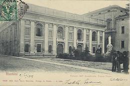 ITALIE - TRES RARE - Mantova - Palazzo Dell Accademia - Piazza Dante -1904 - Mantova