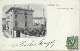 ITALIE - TRES RARE - MARTIGNACCO - SALUTI DA MARTIGNACCO - 1903 - Udine