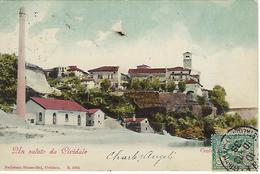 ITALIE -  TRES TRES RARE - UDINE - COULEUR -  Un Saluto De La Cividale - Centrale Elettricia - 1903 - Udine
