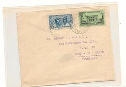 1939 ENVELOPPE DE FORT DE FRANCE POUR PORT OF SPAIN ( TRINITE ET TOBAGO) - Briefe U. Dokumente
