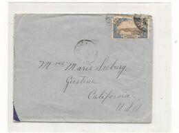 1941 ENVELOPPE DE FORT DE FRANCE POUR CALIFORNIE ( U.S.A.) - Briefe U. Dokumente