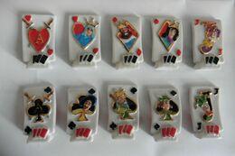 Série Complète De 10 Fèves Jeux De Cartes à Jouer ARGUYDAL 2006 Tarots Liseré Or - Autres