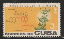 CUBA - N°641 ** (1962) Quinquina - Plantas Medicinales
