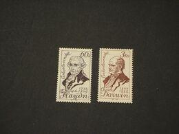 CECOSLOVACCHIA - 1959 RITRATTI 2 VALORI - NUOVI(+) - Neufs