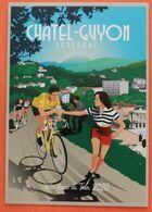 Cyclisme :Tour De France 2020 , Carte De Chatel Guyon Ville Départ - Radsport