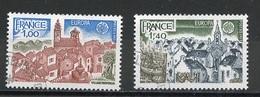 Europa CEPT 1977 France - Frankreich Y&T N°1928 à 1929 - Michel N°2024 à 2025 (o) - 1977