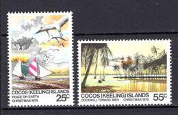 1979 - ISOLE COCOS -  Mi.  Nr. 48/49 - NH - (K-EA.30) - Cocos (Keeling) Islands