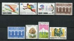 Andorra 1984. Completo ** MNH. - Andorra Española