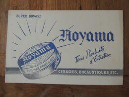 HOYAMA - TOUS PRODUITS D ENTRETIEN - CIRAGES ENCOSTIQUE ETC... - Blotters