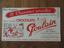 CHOCOLAT POULAIN - USINE DE BLOIS - Blotters