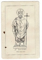 Image , Pieuse, Religieuse Et Canivet. ST SAVINIEN Priez Pour Nous (11,5 X 7,6 ) - Religion & Esotericism