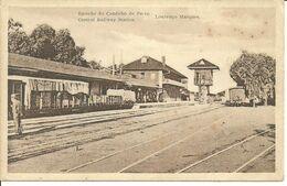 MOÇAMBIQUE - Estação De Caminho De Ferro - LOURENÇO MARQUES - Mosambik