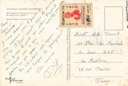 Equateur Guayaquil Ecuador + Timbre 1975 - Ecuador