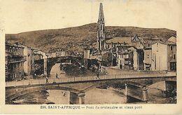 12 - Aveyron - SAINT AFFRIQUE - Pont Du Centenaire Et Vieux Pont - - Saint Affrique