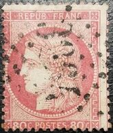 N°57b Cérès 80c Carmin-vif. Oblitéré Losange G.C. N°3864 Saint-Symphorien-d'Ozon - 1871-1875 Ceres