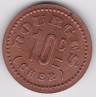 Bourges Jeton Cooperative Militaire 1916 - Monetary / Of Necessity