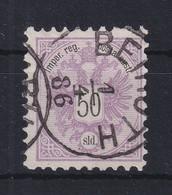 Österreich Levante 50 Soldi Mi.-Nr. 13 Gestempelt BEIRUTH 1.4. 86 - Levant Autrichien