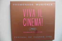 CD Viva Il Cinema ! Hommage à Fellini Festival De Cannes 2003 - Nino Rota, N. Piovani, Bruno Coulais, Georges Delerue - Musique De Films