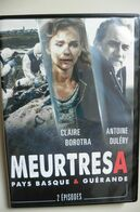 DVD Films TV Meurtres A - Pays Basque & Guérande - Antoine Duléry Claire Borotra - Comme Neuf - TV-Reeksen En Programma's