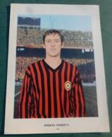 Roberto Rosato (Milan)  E Panzanato Dino ( Napoli) - Calcio -  14,6 X 19,8 - Trading Cards