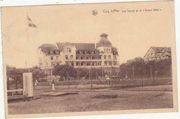 44157 -  Coq  Sur  Mer  Les Tennis Et Le Grand Hôtel - De Haan