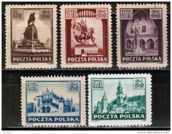 PL 1945 MI 393-97 - Unused Stamps