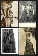 Conjunto De 4 Postais Anigos De SANTO THYRSO Tirso (Loja Do Povo / Costumes / Foto Alvão, Etc) Porto PORTUGAL - Porto