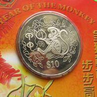 Singapore 10 $ 2004 Monkey - Singapore