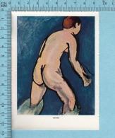 1953 Miniature -Chromo-litho- Bather , Henri Matisse -  Sur Papier Couché - Lithographies