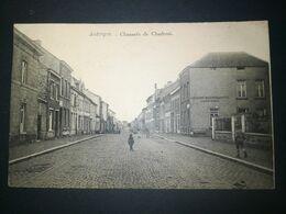 Jodoigne / Chaussée De Charleroi /Edit.? / Voyagée 1919 /Voir Ancienne Maison Marotte (Écuries, Remises) - Jodoigne