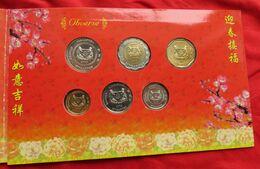 Singapore Set 5 10 20 50 Cents 1 5 $ 2003 - Singapore