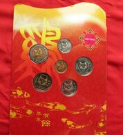 Singapore Set 5 10 20 50 Cents 1 5 $ 2005 - Singapore
