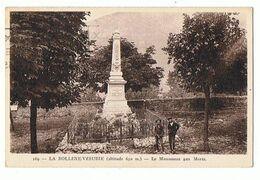 06 - LA BOLLENE VESUBIE - Monument Aux Morts - 1295 - Altri Comuni