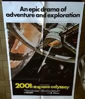 AFF CINE US 2001 L ODYSSEE DE L ESPACE (Kubrick) 69X104cm Approx 1968 1 Sheet - Affiches & Posters