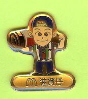 Pin's Mac Do McDonald's Équipier (Chine) - 6C30 - McDonald's
