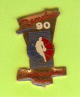 Pin's Mac Do McDonald's Open Barcelona '90 Basketball - 6C28 - McDonald's