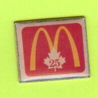 Pin's Mac Do McDonald's Canada 25ième - 4B23 - McDonald's