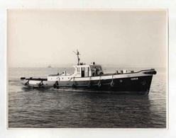 Cx14 A3) Photo Original Portugal Steamer Vapor Sociedade Geral S.G. OURÉM 17,5x23cm (pequeno Defeito Topo) - Boats