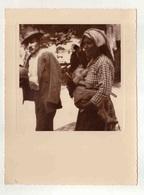 Cx14 B9) VILA POUCA D'AGUIAR 1940 Fotografia Antiga Portugal FEIRA (mercado) Costumes Portugueses 23X17,5 Cm - Luoghi