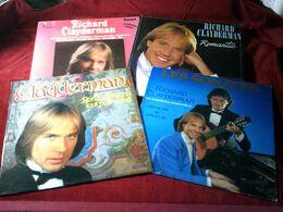 RICHARD CLAYDERMAN °  COLLECTION DE 11  VINYLES °° 10  / 33 TOURS + 1 DOUBLE ALBUM  33 TOURS - Volledige Verzamelingen