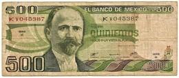 Mexico - 500 Pesos - 29.06.1979 - Pick 69 -  Serie Kv - Mexiko